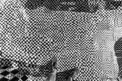 No water (bjoernahrensfotografie) Tags: munich münchen niki saint phalle tarot garden tarotgarten black white schwarzweiss pattern muster tiles kacheln feet füse abstract abstrakt canon canoneos