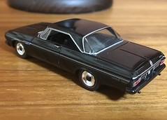 1964 Plymouth Fury Max Wedge 1/64 Greenlight (Eunus El Ya) Tags: american muscle car cars toy diecast model 164 greenlight collectibles drag racing road tracks racer mopar plymouth chrysler dodge fury belvedere 1964 60s max wedge 1960s luxury black bandit