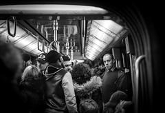 Subway (ericbeaume) Tags: nikon nb noiretblanc d5500 18g bw blackwhite métro subway people underground urban urbain city paris ericbeaume