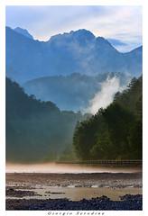 dopo un temporale (Giorgio Serodine) Tags: carnia chiaia lagotramonti friuli pini montagne nubi foschia nebbia alberi boschi cielo allaperto strada canon tele