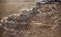 Phoenician ship (calmeilles) Tags: london england unitedkingdom ashurbanipal britishmuseum assyria ancienthistory archaeology middleeast nineveh