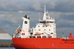 Sten Aurora (Das Boot 160) Tags: stenaurora tanker tankers ships sea ship river rivermersey port docks docking dock boat boats maritime mersey merseyshipping