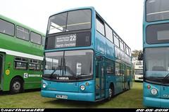 DLA23 (northwest85) Tags: arriva s223 jua dla23 daf alexander alx400 hastings bus rally 2018 s223jua