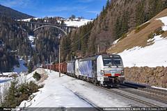 Lokomotion Br193.771 (Marco Stellini) Tags: lokomotion zebra rail traction company rtc brennero brennerbahn alps tirol st jodok ferrovia treno steel snow vectron siemens 193