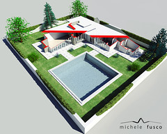 villa f.l. wright 02 (_vorthex) Tags: autocad 3dsmax photoshop render 3d fotoinserimento franklloydwright