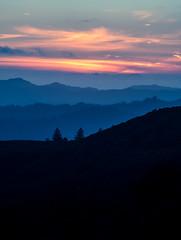 En route (KurteeQue) Tags: mountains sunset clouds silhouette leefilters sanjose southbay landscape photography chill cold weather dusk fog foggy nikon nikond850 d850 nikonusa photo roadside explore exploring travel