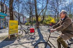 2019 Bike 180: Day 47, March 30 (suzanne~) Tags: 2019bike180 bike bicycle munich münchen radentscheid bavaria germany unterschriftensammlung radsternfahrt