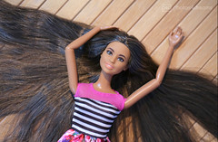 ultimate hair (photos4dreams) Tags: dress barbie mattel doll toy photos4dreams p4d photos4dreamz barbies girl play fashion fashionistas outfit kleider mode puppenstube tabletopphotography diorama scenes 16 canoneos5dmark3 delilah