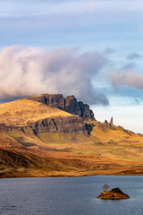 Old man of Storr and The Storr, Isle of Skye. (Ratters1968: Thanks for the Views and Favs:)) Tags: scotland scottish skye isleofskye innerhebrides view landscape beauty scenic scenery mountains mountainous portree cuillins clanmacleod clandonald peaks rocks ranges canon70d martynwraight ratters 1968 canon dslr photography digital eos storr oldmanstorr oldmanofstorr trotternishpeninsula trotternish soundofraasay rock ridge staffin thestorrrock culture nature natural