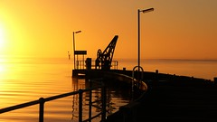 Sunrise Sky, Milang Jetty, South Australia (Red Nomad OZ) Tags: sunrise milang australia southaustralia fleurieupeninsula lake lakealexandrina light water jetty sky outdoor landscape waterscape morning colour nature dawn