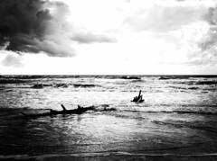 5463 - Sea (Diego Rosato) Tags: sea mare sperlonga italy italia albero tree nuvole clouds inverno winter bianconero blackwhite fuji x30 rawtherapee