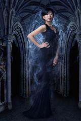 Asian woman (Kovalchuk Igor) Tags: asian korean woman girl gotic gothic dress black dark magic