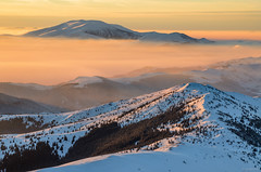 Vezhen peak (Ivaylo Madzharov) Tags: balkan mountain bulgaria landscape nature winter snow sunset
