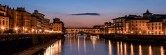 Ponte Vecchio, Florence. (Becks341) Tags: firenze florence ponte vecchio romance holiday sunset sunrise reflections