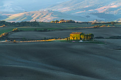 morning over the hills (iwona.kilichowska) Tags: village morning countryside shadows shadow sunlight colors landscape scenery hills tuscany outside