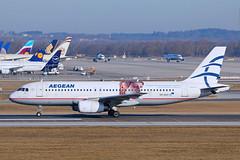 Aegean Airlines / SX-DVV / A 320-232 (karl.goessmann) Tags: aegeanairlines a320232 airbus sxdvv muc