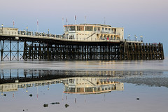 2018_05_06_0229 (EJ Bergin) Tags: sussex westsussex landscape worthing sunset beach sea seaside worthingpier seafront reflection