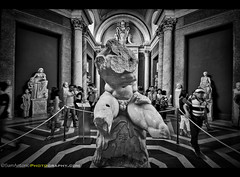 Belvedere Torso - Vatican Museum (Sam Antonio Photography) Tags: rome vatican italy sculpture tour travel museum tourist italian art statue europe tourism ancient famous history antique holiday vacation architecture roman attraction roma classical vintage masterpiece archaeological destination cultural mythology landmark classic marble interior people