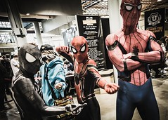 freaky ... just for one day (*BegoñaCL) Tags: heroes comiccon valencia 3 begoñacl marvel superhero spiderman