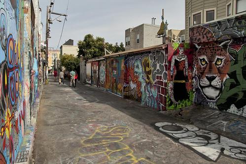 San Francisco - Clarion Alley