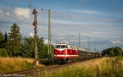 118 770 am Esig Borna (Emotion-Train) Tags: 118 770 228 dicke babelsberg sonderzug dzug formsignal