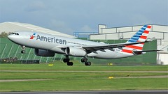 N291AY (AnDyMHoLdEn) Tags: americanairlines a330 oneworld airport manchester manchesterairport 23r