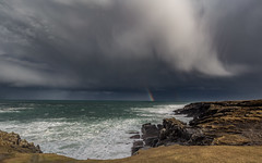 The greater the storm, the brighter the rainbow (Impact Imagz) Tags: buttoflewis rubharobhanais ness isleoflewis outerhebrides hebrides hebrideanskies hebrideanlight hebridean hebrideanlandscapes hebrideanseascapes westernisles cloudsstormssunsetssunrises cloudscapes clouds thunderclouds rainbow storm stormyweather stormgareth weather irix irix15mmblackstone canon