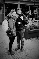 Brugge (Paul Audenaert) Tags: street bw people mensen straat zw black white portrait fuji xt1 nb monochrome noir blanc rue blackandwhite