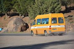 full local bus (cam17) Tags: morocco highatlas atlasmountains fullbus localbus smallbus