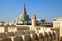 Happy Friday / Minarets in Doha, Qatar (Frans.Sellies) Tags: img6009 doha qatar الدوحة قطر