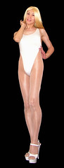 0107 (Youko_Kishida) Tags: fetish crossdresser tgirl leotard crossdressing pantyhose stocking tights lycra