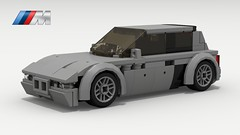 BMW M Coupe (LegoGuyTom) Tags: bmw z3 classic vintage roadster speed speedster sport sports convertible 2door 1990s 2000s german germany european europe lego legos ldd digital designer dropbox download city car cars pov povray lxf m coupe m3