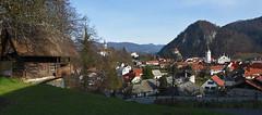 Kamnik (Vid Pogacnik) Tags: slovenija slovenia kamnik town skansen panorama