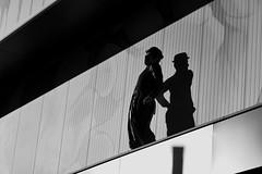 ....look into the new year.... (christikren) Tags: austria artist silhouette christikren black vienna blackwhite bw man newyear fun absoluteblackandwhite panasonic shadow urban