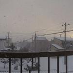 Sunset Through Blizzard Panorama thumbnail