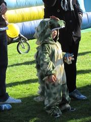 Godzilla wannabe? (jamica1) Tags: rutland scarecrow festival lions park kelowna okanagan bc british columbia canada