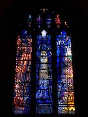 Tom Denny Window, Wallsend (Aidan McRae Thomson) Tags: wallsend church newcastleupontyne tynewear stainedglass window contemporary modern tomdenny