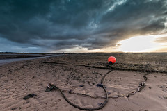 Chained to the Shore (andybam1955) Tags: quay landscape seascape morston sea coastal sunbeams sky northnorfolk rural morstonquay norfolk clouds