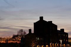 Contrejour redux: Bagley Walk (marc.barrot) Tags: urbanlandscape sunset uk n1c london bagleywalk fishandcoalbuilding king'scrosscentral