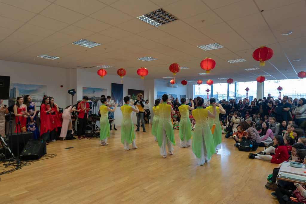 YEAR OF THE PIG - LUNAR NEW YEAR CELEBRATION AT THE CHQ IN DUBLIN [OFTEN REFERRED TO AS CHINESE NEW YEAR]-148948
