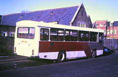 Slide 130-51 (Steve Guess) Tags: fcy281w armchair south wales bedford duple dominant bus walton surrey england gb uk