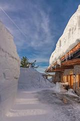Ahornkaser (w.lichtmagie) Tags: berg winter schnee ahornalm alm touristik rosfeld panorama strase berchtesgaden berchtesgadenerland canonefs1755 ngc