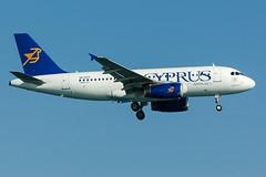 5B-DCF - Cyprus Airways - Airbus A319-132 (5B-DUS) Tags: 5bdcf cyprus airways airbus a319132 a319 lca lclk larnaca larnaka international airport aircraft airplane aviation flughafen flugzeug planespotting plane spotting