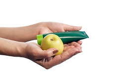 Woman hands holding green apple and beauty hand cream. Isolated on white (wuestenigel) Tags: natural moisturizer body table hands background red female woman spa makeup isolated white view cosmetic face closeup flower apple hand wellness cosmetics petal beautiful care pink treatment holding health green skin cream beauty hygiene apfel isoliert fruit obst desktop gesundheit food lebensmittel healthy gesund frau business geschäft conceptual konzeptionell color farbe healthcare gesundheitswesen nutrition ernährung medicine medizin bright hell one ein diet diät