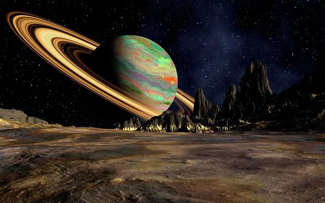 Обои планета, сатурн, космос, кольцо, пространство картинки на рабочий стол, фото скачать бесплатно