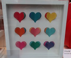 Valentine's Day Colours - Nine Hearts (Pushapoze (NMP)) Tags: valentinesday love amour hearts coeurs cuori hugs kisses embrasses
