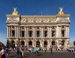Palais Garnier II (Jack Landau) Tags: paris france eu europe building architecture city urban buildings landmark canon 5d jack landau blue sky