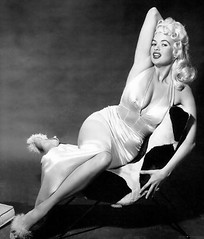 Jayne Mansfield (poedie1984) Tags: jayne mansfield vera palmer blonde old hollywood bombshell vintage babe pin up actress beautiful model beauty hot girl woman classic sex symbol movie movies star glamour girls icon sexy cute body bomb 50s 60s famous film kino celebrities pink rose filmstar filmster diva superstar amazing wonderful photo picture american love goddess mannequin black white mooi tribute blond sweater cine cinema screen gorgeous legendary iconic jurk dress boobs legs pantoffels slippers