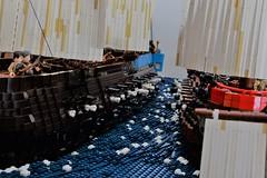 Cannon battle (brick.spartan) Tags: lego moc ship sails naval cannon battle pirates