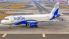 Indigo Airbus A320 VT-IEG Mumbai (VABB/BOM) (Aiel) Tags: indigo airbus a320 vtieg bangalore bengaluru canon60d